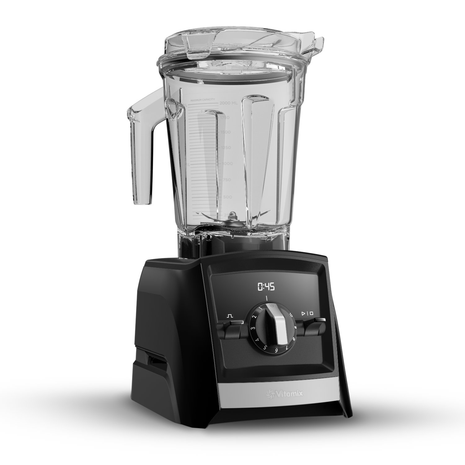 Vitamix A2300 Ascent Series Smart Blender, Professional-Grade, 64 oz. Low-Profile Container, Black by Vitamix