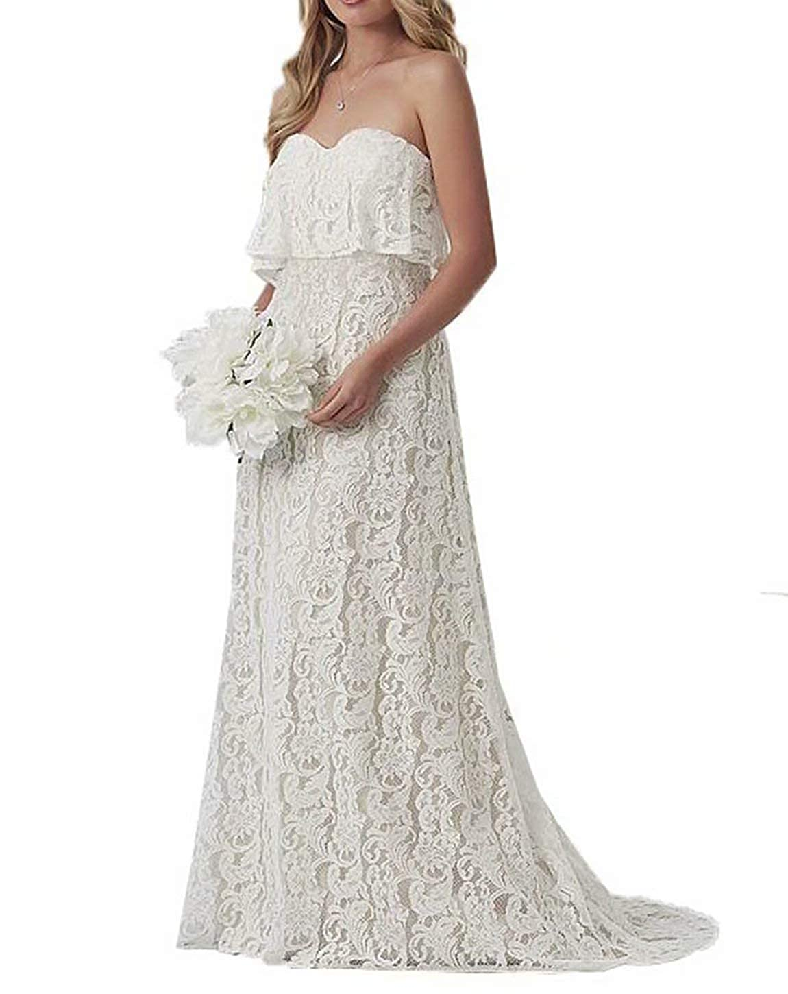 Straight Wedding Gowns