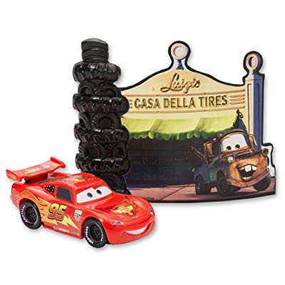 DECOPAC Cars Radiator Springs DecoSet Cake Topper: Toys & Games