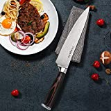 Kitchen 8 inch Chef Knife, High Carbon Stainless Steel Sharp chefs knife with Gift Box