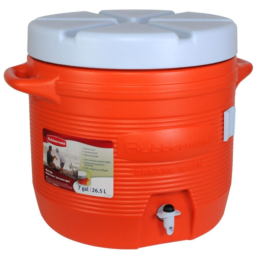 Amazon.com: Jarra de agua Victory de Rubbermaid, Anaranjado ...