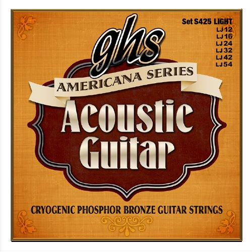 americana light acoustic guitar strings