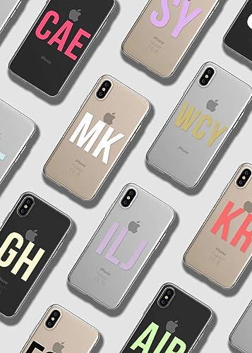 initials iphone 8 case