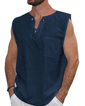 dahuo - Camiseta de algodón para Hombre, Estilo Hipster ...