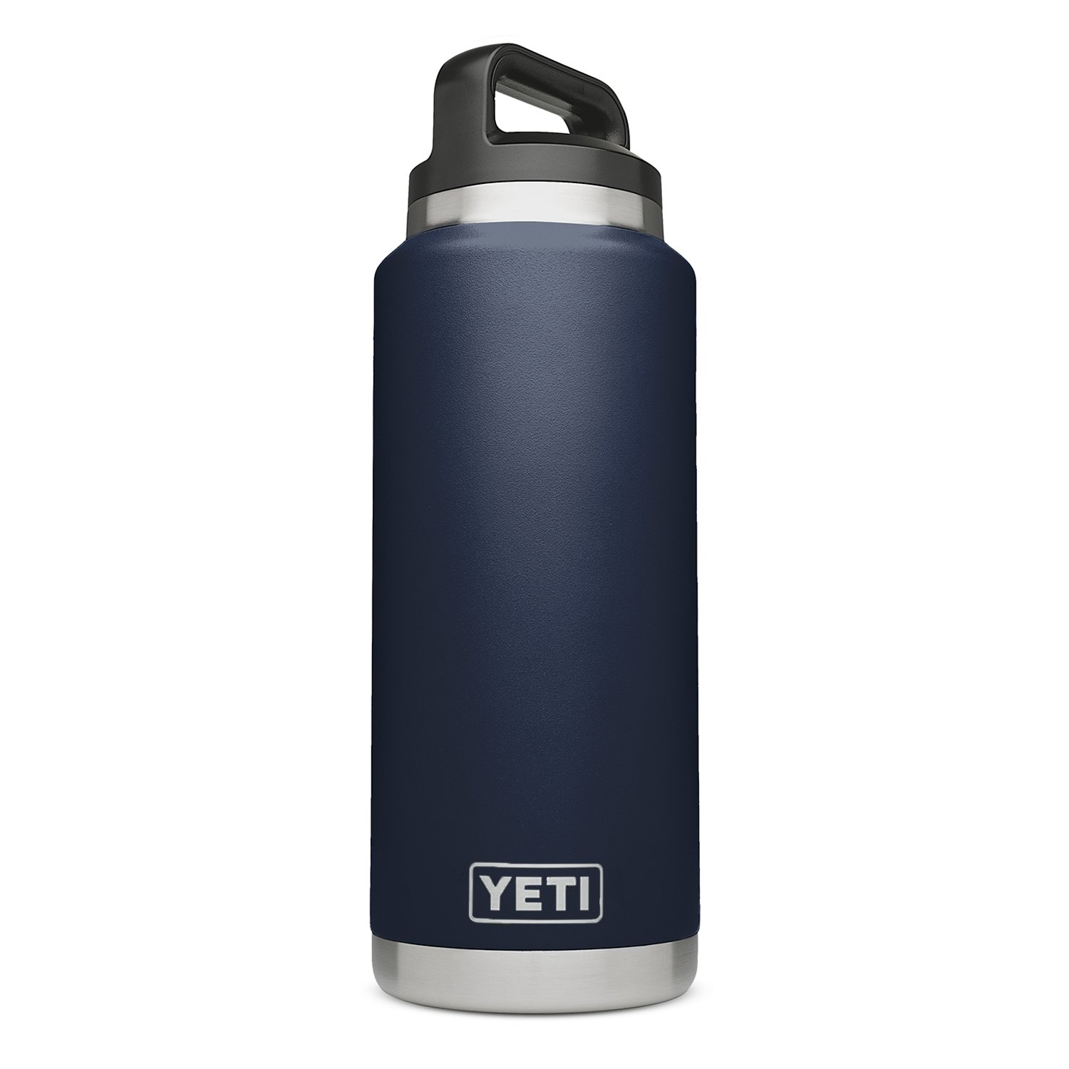 YETI Rambler 36 oz Stainless Steel Vacuum Insulated Bottle with Cap, Navy by YETI