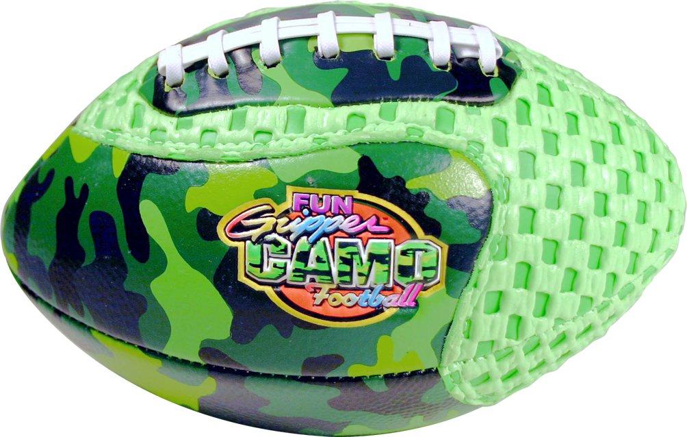 Fun Gripper - Grip Zone 8.5 Camo (Neon Green) Fun Gripper Football By: Saturnian I