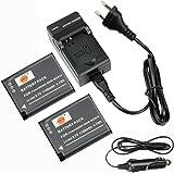 DSTE 2-pack Rechange Batterie et DC146E Voyage Chargeur pour Panasonic DMW-BCN10 Lumix DMC-LF1 DMC-LF1K Lumix DMC-LF1W como DMW-BCN10E DMW-BCN10PP