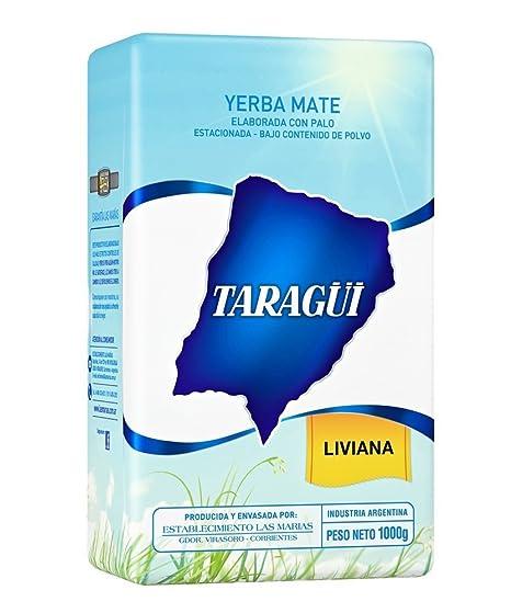 Yerba mate Taragui Liviana Bajo Contenido de Polvo 500g ...