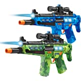 Kidtastic Laser Tag Gun Blasters – Laser Tag for Kids 2 Player – Infrared Sensor, NO Laser Beam, No Vest Needed – Boys Toys Ages 6 8 – Indoor & Outdoor Multiplayer Fun for Kids, Teenagers & Adults