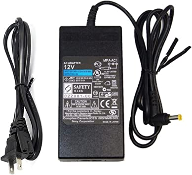 UpBright New Global 12V AC//DC Adapter Replacement for Sony EX1 PMW-EX1 XDCAM PMW-EX1R PMWEX1 PMWEX1R PMW Series HD Pro Camcorder 12VDC Power Supply Cord Cable PS Battery Charger Mains PSU