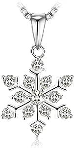 Swarovski Elements Crystal 925 Sterling Silver Pendant Necklace for Female Women Ladies Girls Gift JRosee Jewelry JR941
