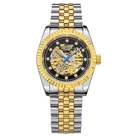 North King Reloj de Cuarzo de visualización de la Fecha de Relojes Reloj mecánico automático Moda