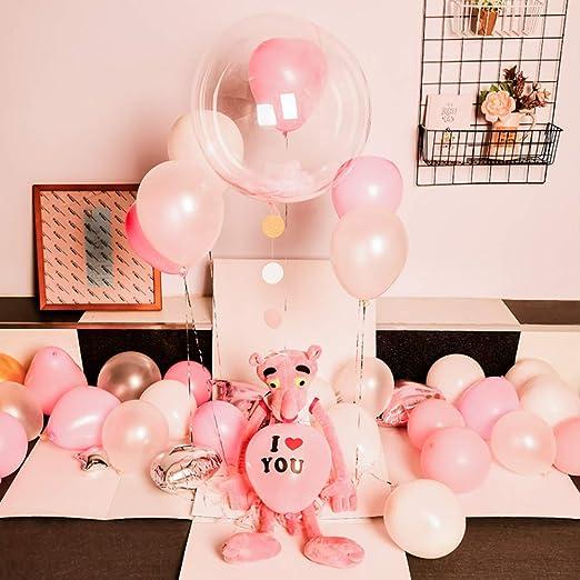 Caja de globos de Navidad para parejas, diseño de propuesta ...