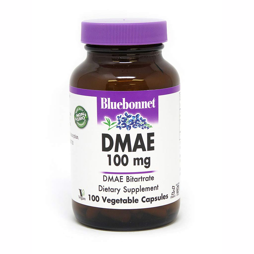 Amazon.com: BlueBonnet DMAE Supplement, 100 Count: Health & Personal Care