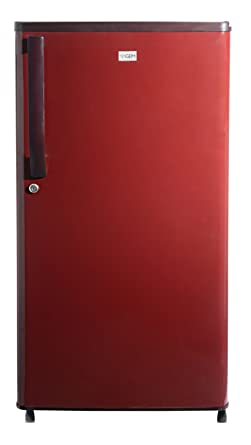Gem 180L 2 Star Direct Cool Single Door Refrigerator (GRDN-2052BRWC, Burgundy Red)