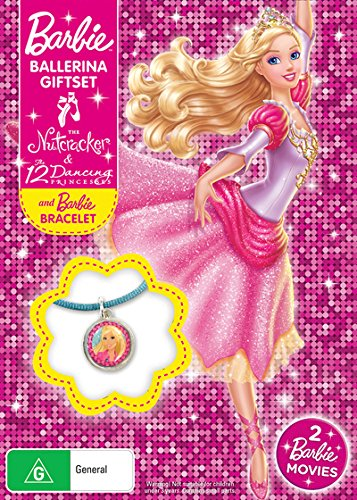 Barbie Ballerina Pack: In The Nutcracker / 12 Dancing Princesses | NON-USA Format | PAL Region 4 Import - Australia