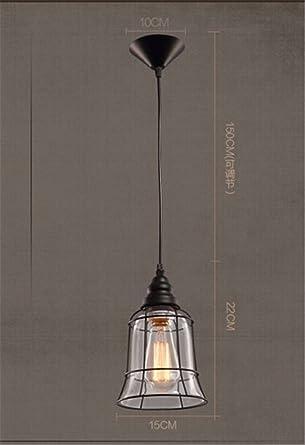 Edison industriales luces colgantes en Loft con Tulipa de ...