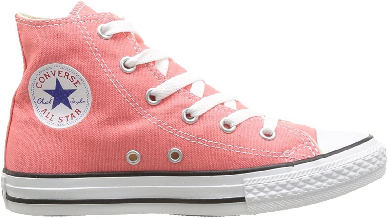 Converse Chuck Taylor All Star Season Hi, Baskets mode fille Rose Rose Carnaval