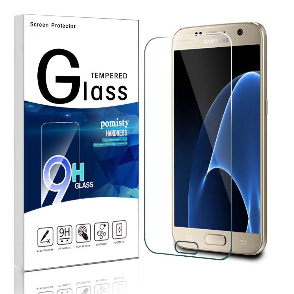 Protector de Pantalla para Galaxy S Pomisty Samsung S Templado Premium Protector