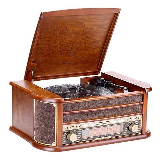 YWAWJ Jugador de registro de gramófono retro del vinilo ...
