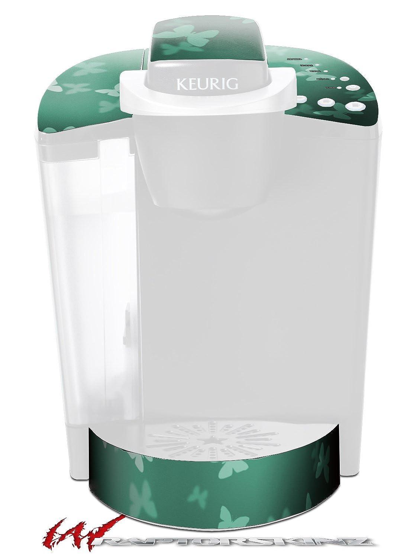 Bokeh Butterfliesシーフォームグリーン – デカールスタイルビニールスキンFits Keurig k40 Eliteコーヒーメーカー( Keurig Not Included )   B017AK6D7Q