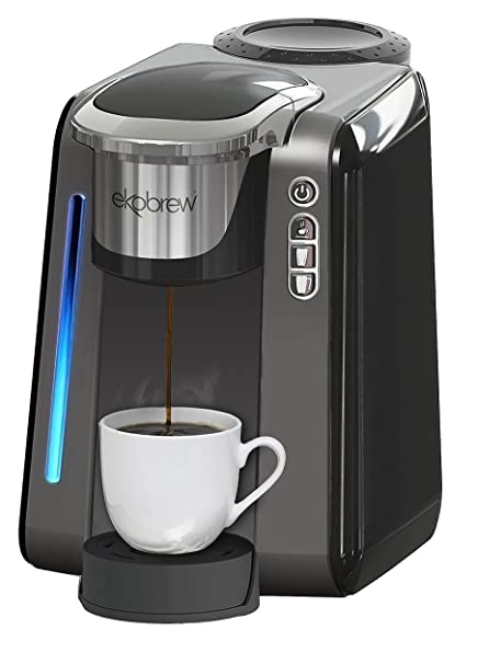 Amazon Single Cup Coffee Maker for K Cups By Ekobrew Reusable #2: 61gJcNIRuLL SY606
