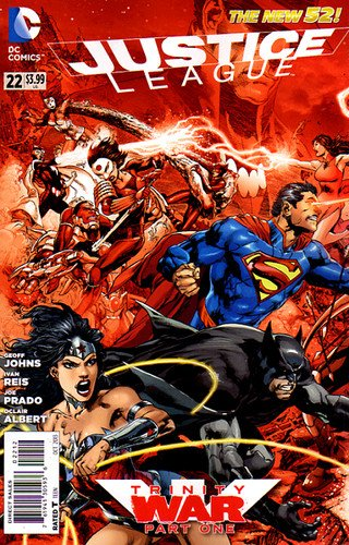 Justice League #22 The New 52 2nd PTG VAR 2013 *DC Comics* ebook