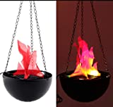 TOPCHANCES Electric LED Flamsee 3D Fake Fire Lamp