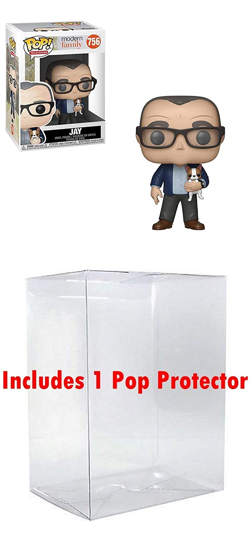 Jay Funko Modern Family POP Bundled Box Protector CASE