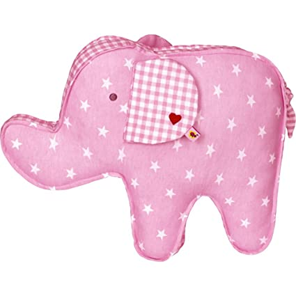 Cojin Elefante Rosa Serie Infantil BabyGlück: Amazon.es ...