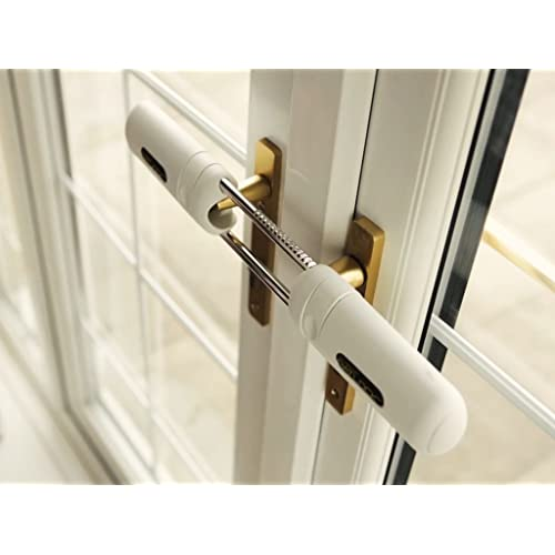 Holland Plastics Original Brand Patlock Internal Patio/French Double Door  Lock. Instant French Door