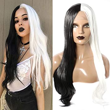 Party Wig Lady Wig,Heat Resistant  Wig-1174 Long Curly Hair Wigs Lace Front Wig Lace Wig Long Curly Wig Cosplay Wig Little Curly Hair
