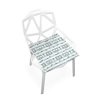 Amazon.com: Xinxin cojines de asiento Cojín Azul poco de ...