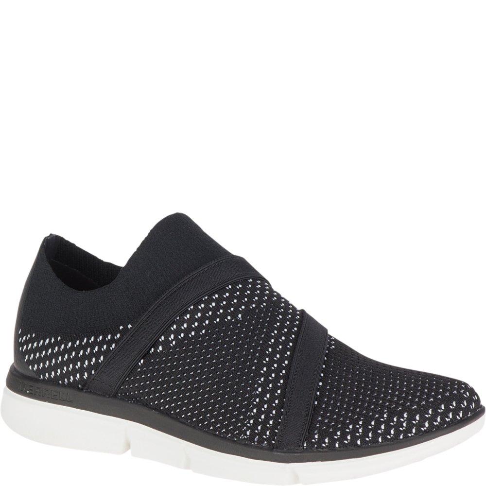 Merrell Womens Zoe Sojourn Knit Q2 Lightweight Comfort Shoe, Black, 7 B(M) US
