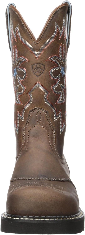 Ariat - Chaussures Western Probaby Fatbaby Femmes Marron