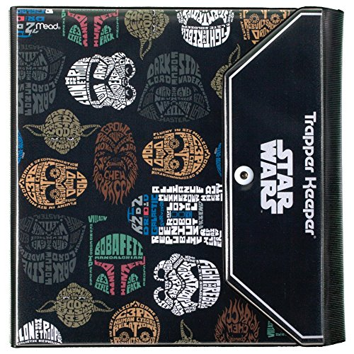 Star Wars Trapper Keeper 1.5 Inch Binder by Mead, 3 Ring Binder, Characters Pattern (73491)