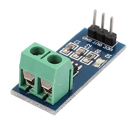 Módulo detector del sensor eDealMax estrenar ACS712 20A Rango de Amperaje actual - - Amazon.com