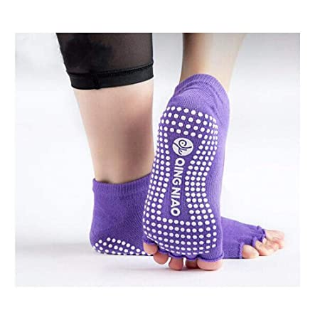 Yougou01 Calcetines de Yoga, Calcetines de Yoga con Punta de ...