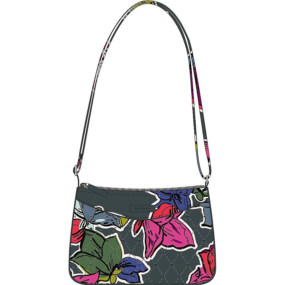 Vera Bradley Little Crossbody, Signature Cotton Cuban Tiles 15455