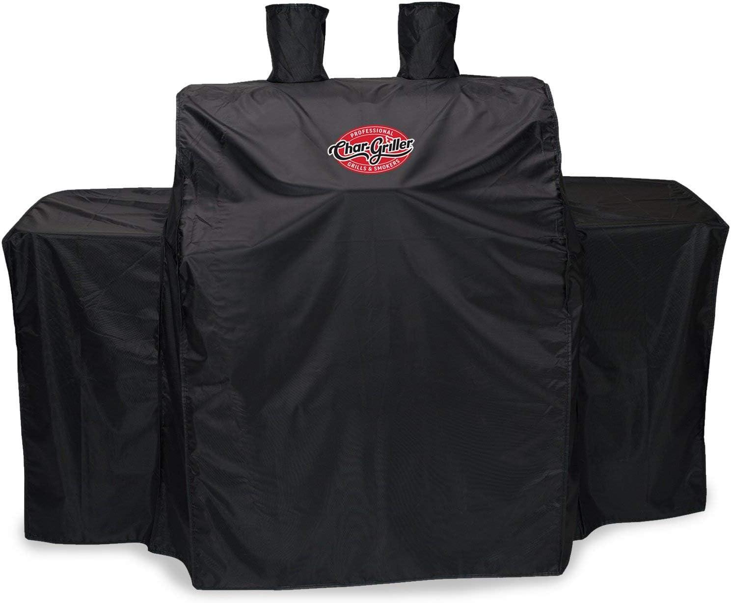 Von Premier 3055 - Cubierta para barbacoas, color negro