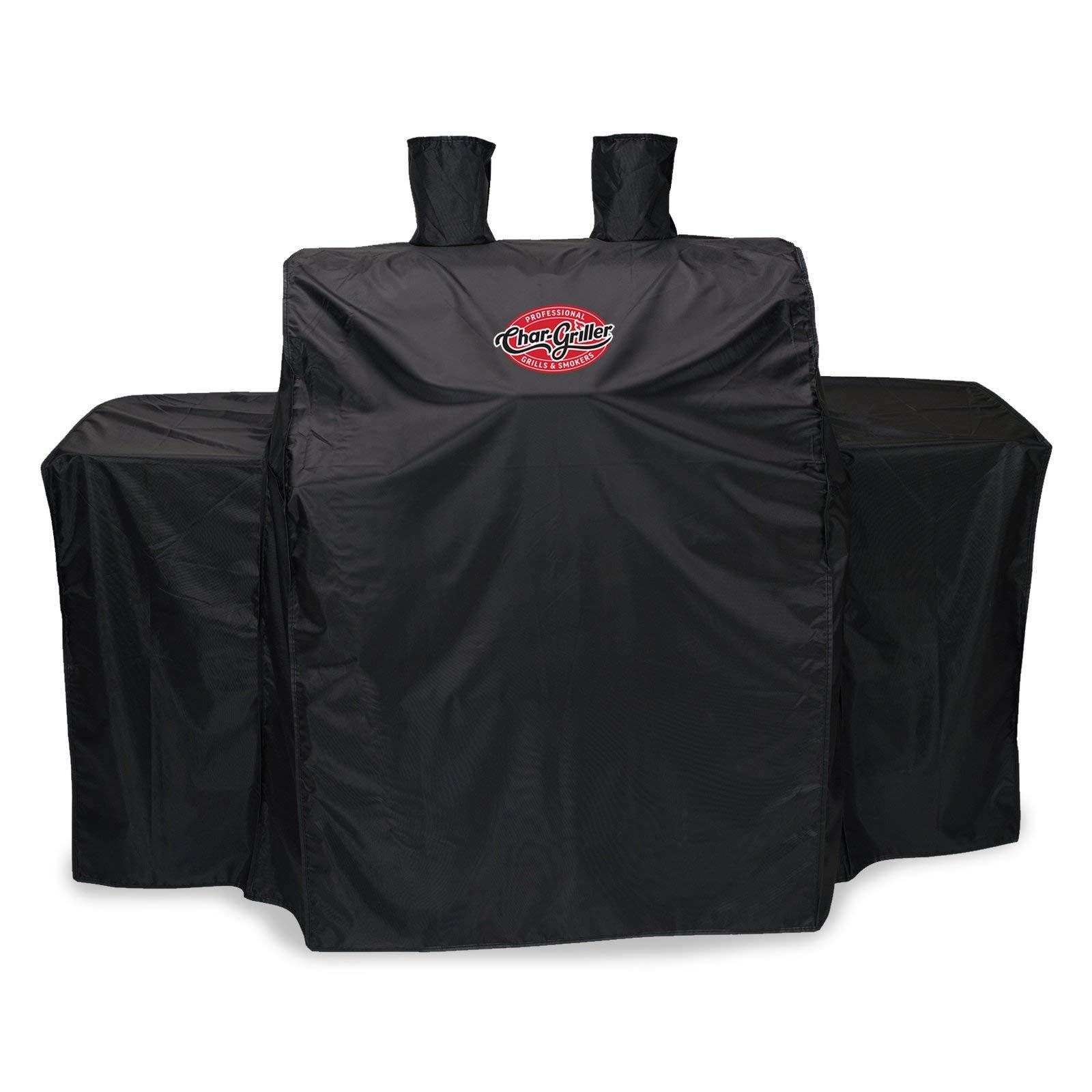 Char-Griller 3055 3-Burner Gas Grill Cover, Black by Char-Griller