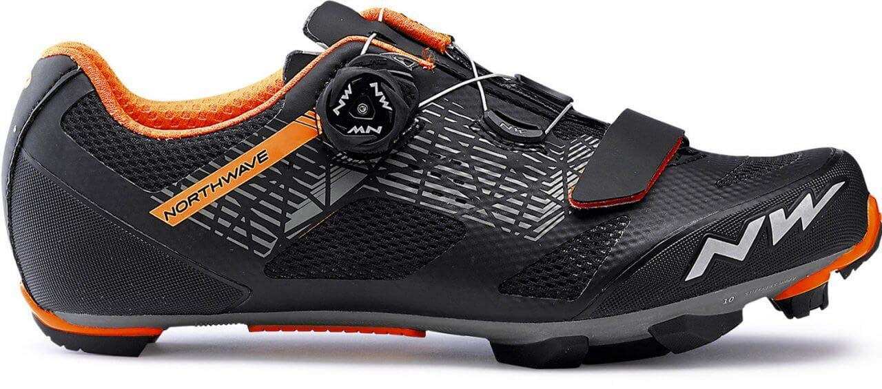 Northwave Razer MTB Fahrrad Schuhe schwarz Orange 2019