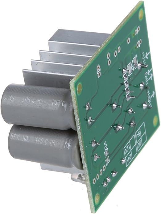 TOPINCN Converter Adapter Transformer For Electric Scooter Step Down Transformer Voltage Reducer DC 36V-72V To 12V 10A 120W