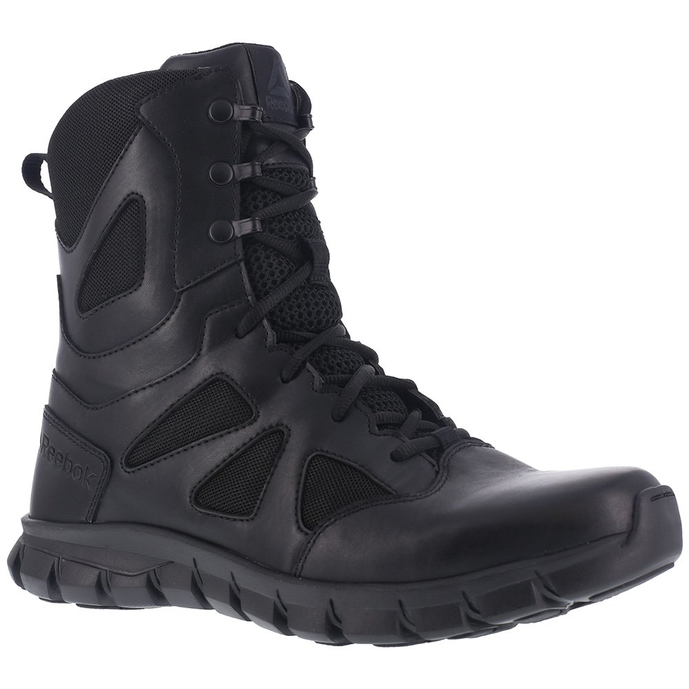 Reebok Men's Sublite Cushion RB8805 Military and Tactical Boot, Black, 10 W US