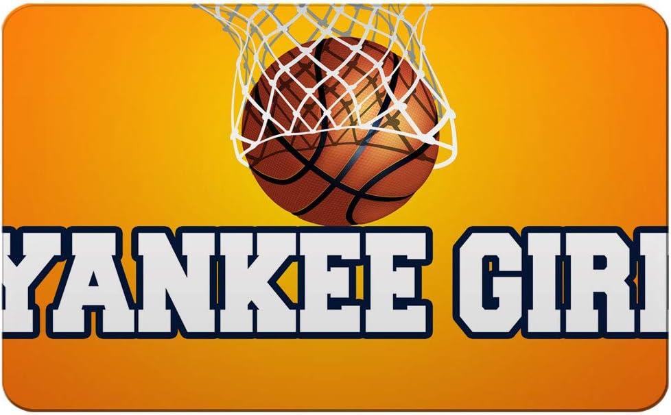 Makoroni - YANKEE GIRL Basketball Des#1 Refrigerator Wall Magnet 2.75x3.5 inc
