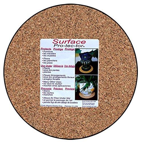 - Curtis Wagner Plastics MC-800 Plant Mat, Natural Cork, 8-Inch