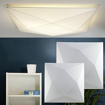 Moderne Wandbeleuchtung design wandleuchte deckenleuchte polaris aus stretch stoff 80 cm