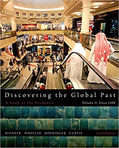 Amazon discovering the global past volume ii 9781111341435 discovering the global past volume ii 4th edition fandeluxe Images