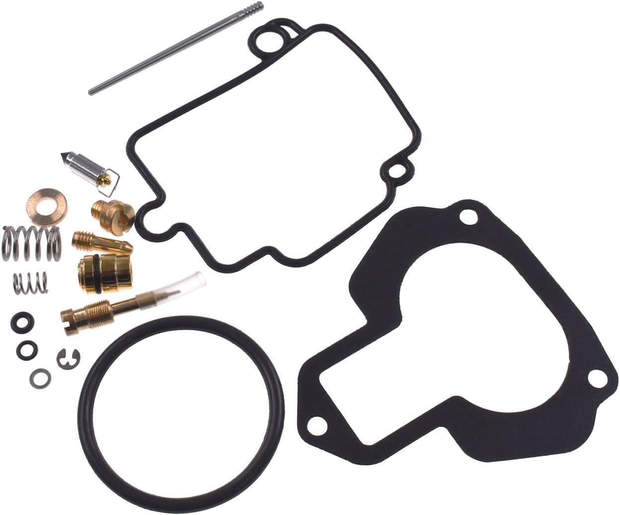 Ruichang Kit de r/éparation pour carburateur Yamaha Big Bear 350 YFM350FW 89-97
