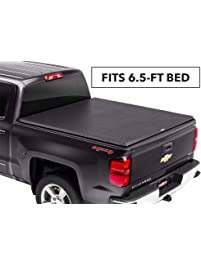 TruXedo TruXport Soft Roll Up Truck Bed Tonneau Cover |272001| fits 2014-2019 GMC Sierra/Chevy Silverado 1500/2500/3500...